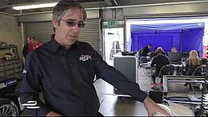 A look inside Team Aguri garage - Formula E