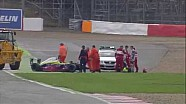 Two big crashes at Eurocup Formula Renault 2.0 Silverstone