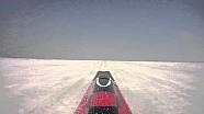 Venturi VBB-3 sur le lac salé de Bonneville