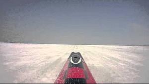 Venturi VBB-3 auf dem Salzsee von Bonneville