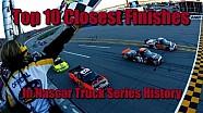 Top 10 finales más cerrados en la historia de  NASCAR Truck Series
