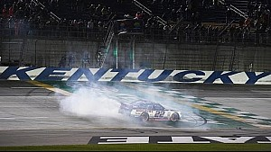 Ryan Blaney gana en Kentucky