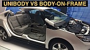 Unibody vs Body On Frame - Explained