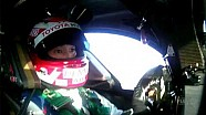A lap of the Fuji Speedway with Nakajima san in car #1 Toyota TS040   Hybrid