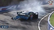 2015年V8超级房车赛巴瑟斯特查兹·蒙斯特事故