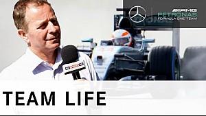 Test im Mercedes W06