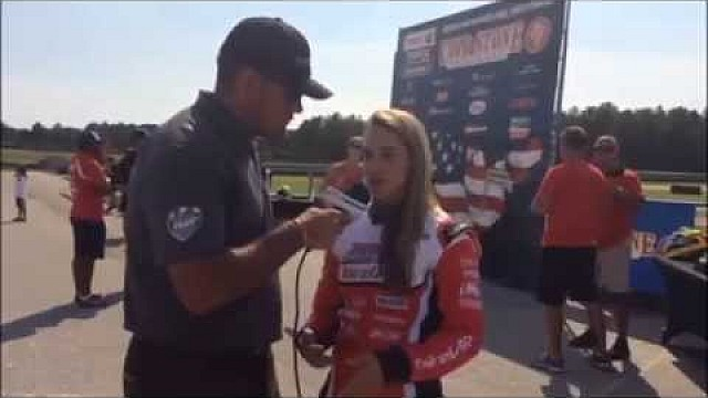 2015 Cold Stone United States Rotax MAX Challenge Grand Nationals - Sabre Cook Interview