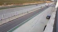 DTM-Mercedes fährt aus der Box
