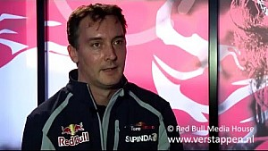 Interview with James Key at the Barcelona test, 01/03/2016