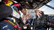 Daniel Ricciardo drives the Triple Eight Project Sandman V8 Supercar