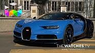 Verrassingsbezoek Bugatti Chiron aan Parmigiani Fleurier