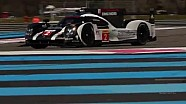 The new Porsche 919 Hybrid in its first 2016 WEC action from The Prologue