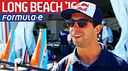 Formula E Drivers Talk Up Long Beach Chances