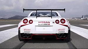 Nissan GT-R Nismo - Record mondial de drift