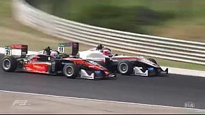 Лучшие моменты 2-й гонки Евро Ф1 на Хунгароринге