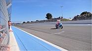 La pista del histórico Racing Team Yamaha