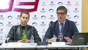Press Conference with Lorenzo at Andorra