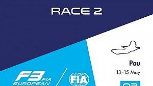 فورمولا 3: السباق الثامن في الموسم / السباق الثاني في بو