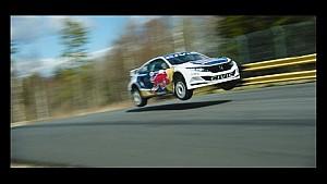 Honda Civic Red Bull Global Rallycross Launch