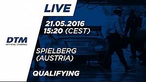 LIVE - Qualifying (Race 1) - DTM Spielberg 2016