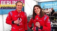 Cyndie Allemann et Matthias Malmedie en Formula E