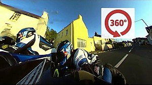 Isle of Man TT: Seitenwagen in 360 Grad