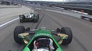Il gran botto tra Daly e Newgarden in Texas
