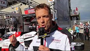 Práctica de pit stop con Alex Wurz