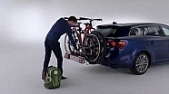 Toyota Genuine Accessories - How to Install a Bike Carrier.