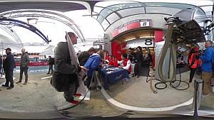 没证件进不了勒芒24小时? 来看看Motorsport.com提供360度全景维修区,能找到你认识的人么?
