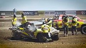 Wilder Crash in Offroad-Serie