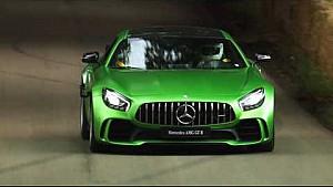 De nieuwe Mercedes-AMG GT R op Goodwood | Mercedes-Benz UK
