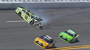 Daytona: Crash, Kyle Busch