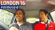 Dario Franchitti e Bruno Senna a Londra