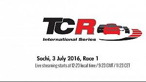 Live: TCR in Sochi, Rennen 1