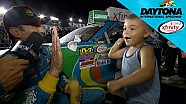 Almirola and son: 'We got a trophy'