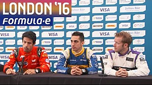 Title Contenders Press Conference! - Formula E London