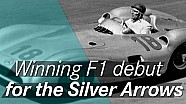 Debut de Mercedes en F1 - 4 de julio de 1954
