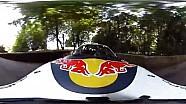 560匹马力奥迪S1 EKS RX,360度摄像头,就像坐在车顶上看比赛