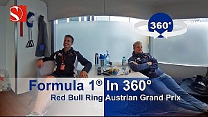 F1 en 360° - Red Bull Ring - GP de Austria - Sauber F1 Team