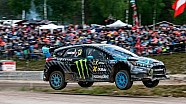 Ford Focus RS RX Second World Rallycross Victory with Andreas Bakkerud