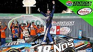 Busch celebrates dominant win at Kentucky