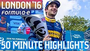VISA London ePrix 2016 (Sábado: 50 Minutos de acción) - Fórmula E