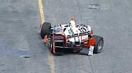 Le crash de Juan Pablo Montoya à Toronto