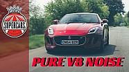 Jaguar F-Type R: The BEST sounding V8!