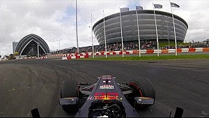 Showrun: David Coulthard in Glasgow