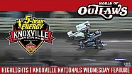 World of Outlaws Craftsman Sprint Cars Knoxville Nationals August 10th, 2016 | HIGHLIGHTS