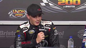 Moffitt talks racing against NASCAR lineage