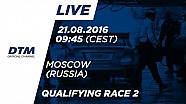 LIVE: Qualifying (Race 2) - DTM Moscow 2016