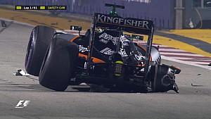 GP de Singapour - Un départ chaotique